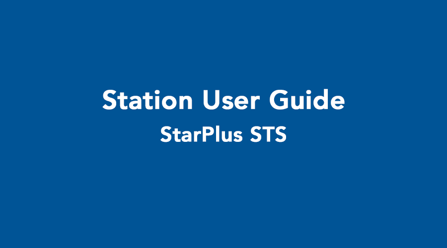Starplus STS User Guide